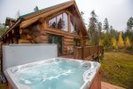 Private Hot Tub with amazing views
