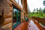 Beautiful decks to sit and enjoy the views