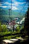 Whitefish Mountain is full of summer activities, try the chair lift