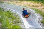 Zip down the Alpine Slide Many summer activities on the Mountain