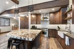 Stay in and cook at home in this gourmet kitchen