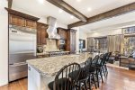 Spacious Kitchen that adjoins the living areas