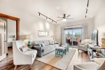 Granite countertops featured and stainless steel appliances