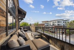 Luxury  2nd street Penthouse Loft Condo in Downtown Whitefish! Private Hot Tub!