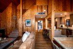 A perfect place to escape with HDTV and wood stove
