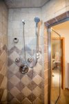 Steam shower in the master bath