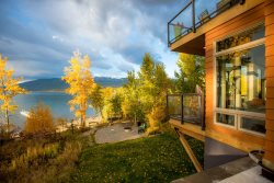 'City Beach 24' Luxury Lake Condo right on City Beach in Whitefish!!!