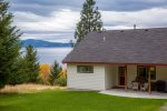 Beautiful Home with a view of Flathead Lake