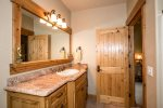 Enjoy your own private en suite from the upstairs queen room