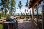 Enjoy a BBQ out on the deck with friends and family