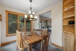 Kitchen with gorgeous features and all you need to cook