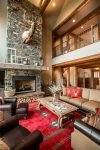 A true Montana lodge feel permeates this home.
