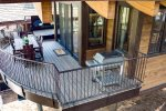 The spacious deck also has a high-quality grill and private hot tub