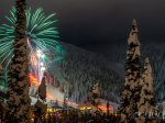 Fireworks on Whitefish Mountain