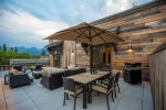 Another view of this fantastic patio with lots of seating