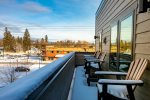 Enjoy views of Whitefish from the rooftop patio.