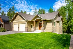 New Home Close to Whitefish Lake