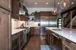 You`ll love cooking in this gourmet kitchen with gas range, and double oven