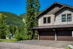 This gorgeous home boasts panoramic views of Whitefish Mountain