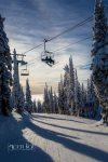 Enjoy the short lift lines and amazing snow on Whitefish Mountain