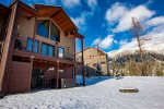 The Chair View Chalet is the perfect ski-in/ski-out property