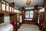 The kids will love the bunk room You can sleep 6 in this room