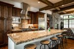 This gourmet kitchen is a foodies dream