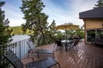 You will never want to leave this gorgeous deck
