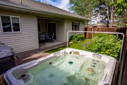 NEW LISTING! Charming 2BD 1BA townhouse just minutes from Downtown Whitefish! Has private hot tub!!