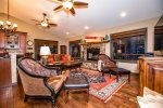 Relax in the large hot tub and watch the stars and wildlife