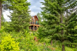 Gorgeous Private Whitefish Chalet! 2BD 2BA with separate 1 BD home 1BA home included!