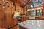Ample natural lighting in the kitchen and living area