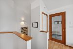 Enjoy the expansive forest views from the kitchen window