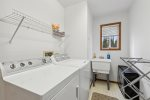 Let your worries melt away in this beautiful soaking tub