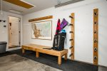 Store your skiis nice and tidy
