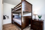 Bunk beds offer plenty of sleeping options