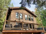 Take a soak in your private hot tub after a long day of adventure
