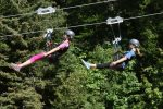Spend the day zip lining at Whitefish Mountain Resort