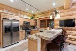 Wet bar and pool table for fun with family & friends