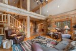Enjoy your private hot tub after a day of skiing