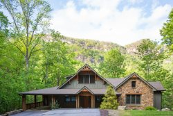 ON THE ROCKY BROAD RIVER ~ MOUNTAIN VIEWS ~ INTERNET ~ WOOD FLOORS ~ GAME ROOM ~ LEATHER FURNITURE ~ CLOSE TO TOWN