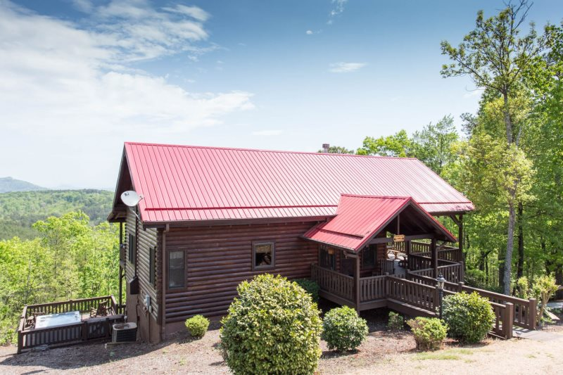 Coopers Cabin By Carolina Properties Lake Lure Nc Is A 4 Bedroom
