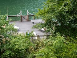 LAKE LURE LAKEFRONT ~ INTERNET ACCESS ~ FIREPLACE ~ BOAT HOUSE AND DOCK SPACE ~ PAVED DRIVE