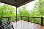 Just imagine waking and stepping out on the deck in the morning and breathing in the fresh mountain air. Relax with a cup of coffee on the rocking chair.