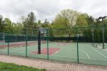 Shoot some hoops in the basketball courts