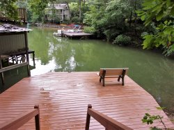 LAKE LURE LAKEFRONT | INTERNET | 2 BED | 2 BATH | PRIVATE | ROMANTIC | NEWLY RENOVATED