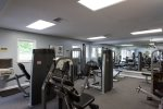 Workout machines available for full body workout