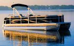 22` NICE Pontoon Boat for Rent with our Lakefront Rentals