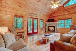 INTERNET | FIREPLACE | ROMANTIC | RIVERBEND AMENITIES | WOODED AREA | STREAM