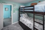 Twin Bunk Bed Guest Room